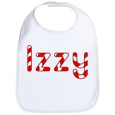 Izzy - Candy Cane Bib