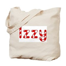 Izzy - Candy Cane Tote Bag