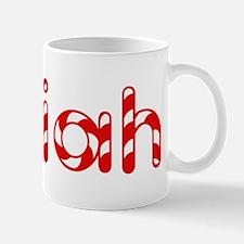 Isaiah - Candy Cane Mug