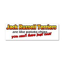 potatochips_jackrussell Car Magnet 10 x 3