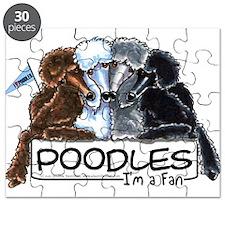 Poodle Fan Puzzle