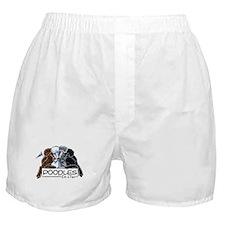 Poodle Fan Boxer Shorts