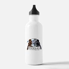Poodle Fan Water Bottle