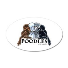 Poodles Wall Decal