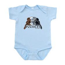 Poodles Infant Bodysuit