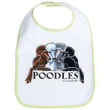 Poodles Bib