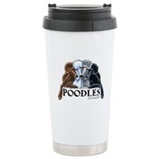 Poodles Travel Mug