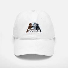 Poodles Baseball Baseball Cap