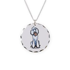 Teddy Bear Poodle Necklace