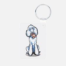 Teddy Bear Poodle Keychains