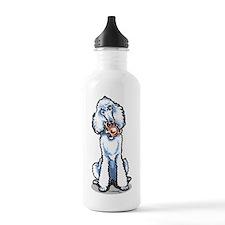 Teddy Bear Poodle Water Bottle