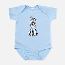 Teddy Bear Poodle Infant Bodysuit