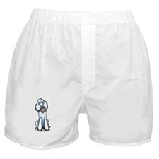 Teddy Bear Poodle Boxer Shorts