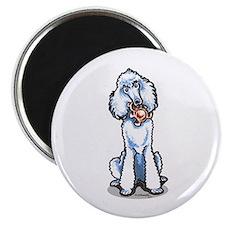 "Teddy Bear Poodle 2.25"" Magnet (100 pack)"