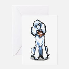 Teddy Bear Poodle Greeting Card