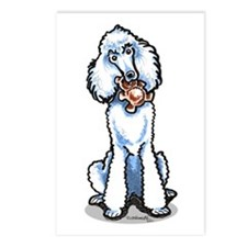 Teddy Bear Poodle Postcards (Package of 8)