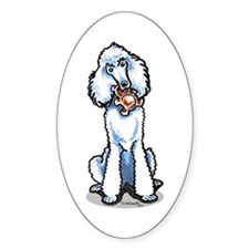 Teddy Bear Poodle Decal