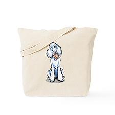 Teddy Bear Poodle Tote Bag