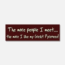 greatpyre_morepeople Car Magnet 10 x 3