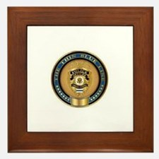 Police Coin... Framed Tile