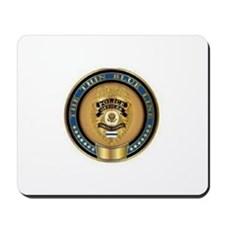 Police Coin...  Mousepad
