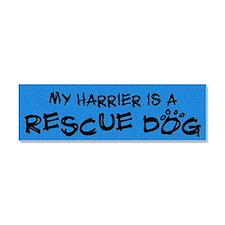 harrier_rescuedog Car Magnet 10 x 3