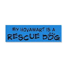 hovawart_rescuedog Car Magnet 10 x 3