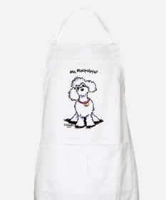 Toy Poodle Manipulate Apron