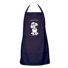 Toy Poodle Manipulate Apron (dark)