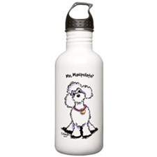 Toy Poodle Manipulate Water Bottle