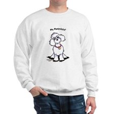Toy Poodle Manipulate Sweatshirt
