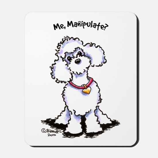 Toy Poodle Manipulate Mousepad