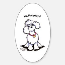 Toy Poodle Manipulate Decal