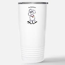 Toy Poodle Manipulate Travel Mug