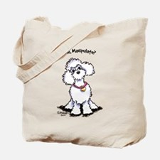 Toy Poodle Manipulate Tote Bag