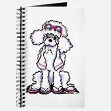 Poodle Beach Bum Journal