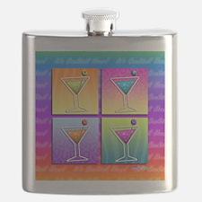 POP ART MARTINIS Flask