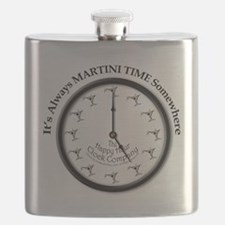 ALWAYS MARTINI TIME Flask