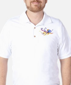 octopus Golf Shirt