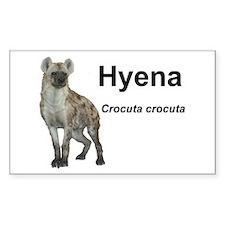 Hyena Rectangle Decal