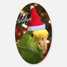 dyh_santa_card Decal