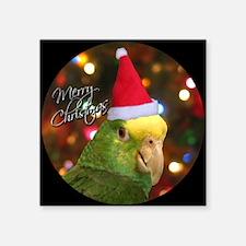 """dyh_santa_ornament Square Sticker 3"""" x 3"""""""