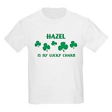 Hazel is my lucky charm Kids T-Shirt
