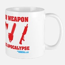 Choose Your Weapon Zombie Apocalypse Mug