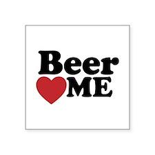 Beer Loves Me Sticker