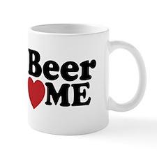 Beer Loves Me Mug