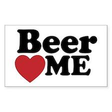 Beer Loves Me Decal
