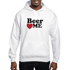 Beer Loves Me Hoodie