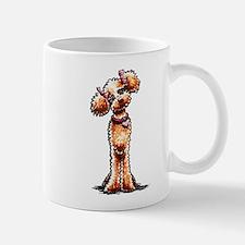 Girly Apricot Poodle Mug