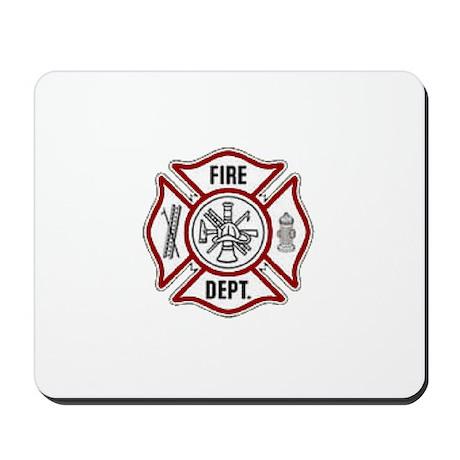 Fire Dept. Emblem.. Mousepad